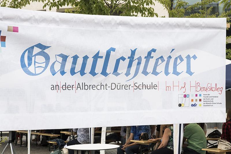 Gautschfeier am ADBK